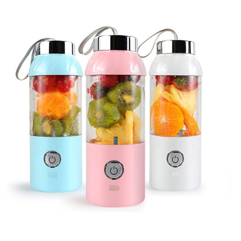 550ml 60W USB elektrický ovocný odšťavňovač láhev DIY třepačka mixér Juicing Extracter Cup