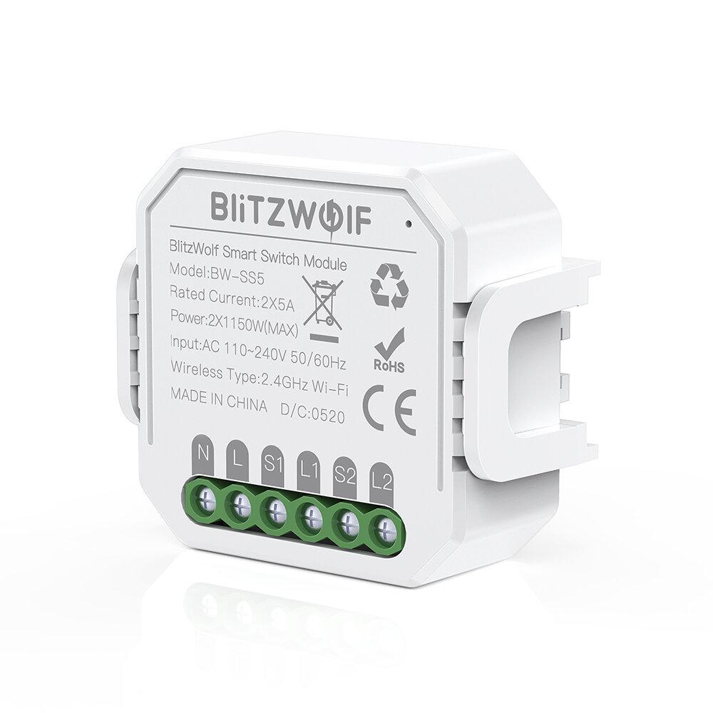 Smart Switch BlitzWolf BW-SS5 za $13.55 / ~57zł
