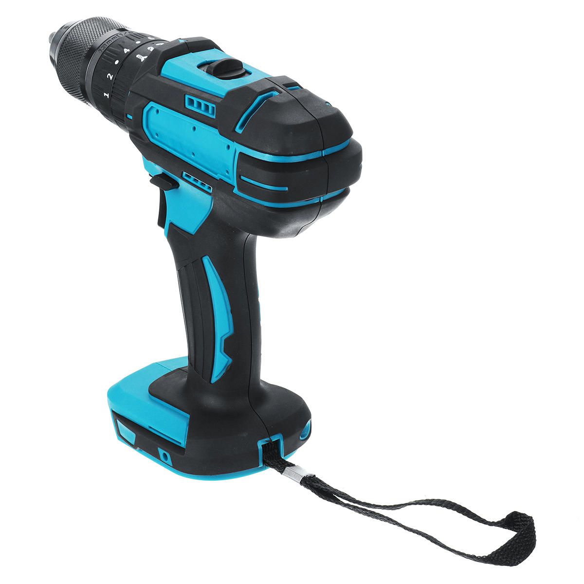 10mm Chuck Brushless Impact Drill 350N.m Cordless Electric Drill For Makita 18V Battery 4000RPM LED Light Power Drills - 4