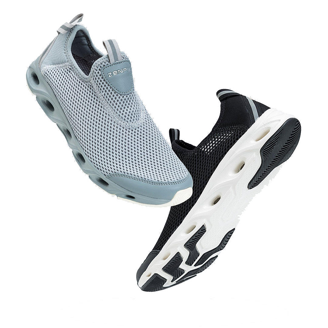 ZENPH Summer Men Sneakers Quick Drying Breathable Lightweight Sports Running Shoes Non slip Wear Resistant Shoes From Xiaomi Youpin - 1