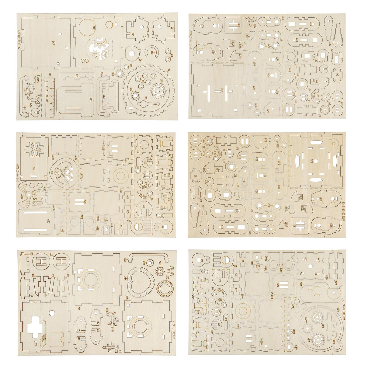 10pcs Paper Tape Strip For 30 Note DIY Music Box Or Movement - 3