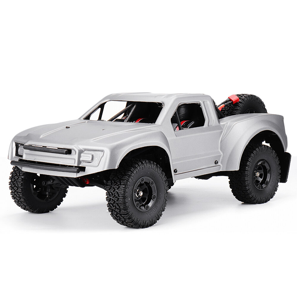 WLtoys 12427 2.4G 1/12 4WD Crawler RC Car With LED Light - 1