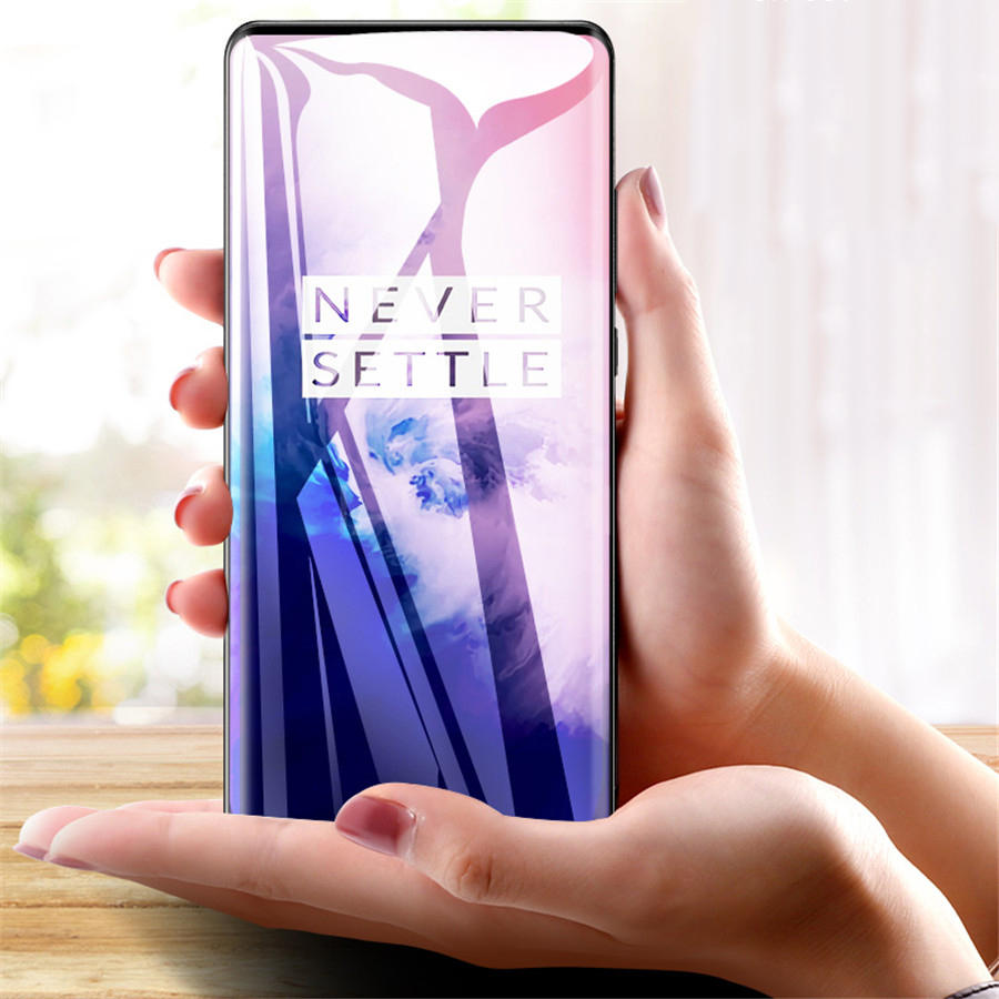 BAKEEY OnePlus 7 Pro / OnePlus 7T Pro 3D 9H Full Coverage Full Glue Anti-Explosion Tempered Glass Screen Protector