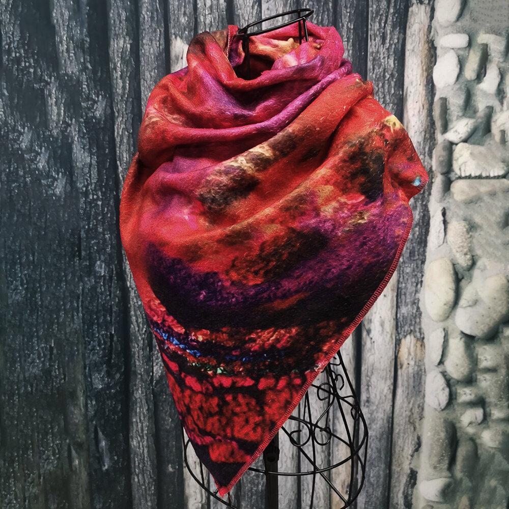 Vintage Scarves & Shawl Wrap Pattern - 1