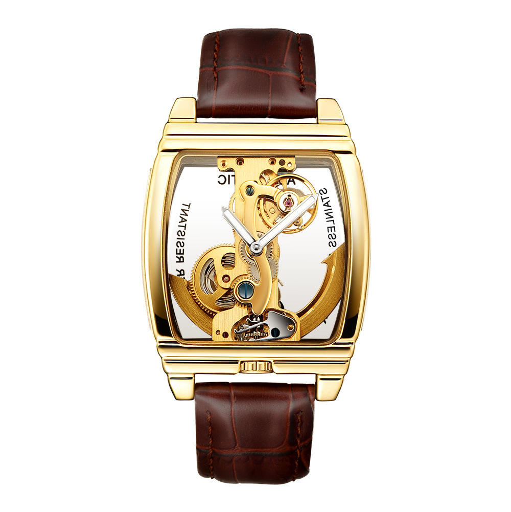 TEVISE 8383A Week Date Display Automatic Mechanical Watch - 5