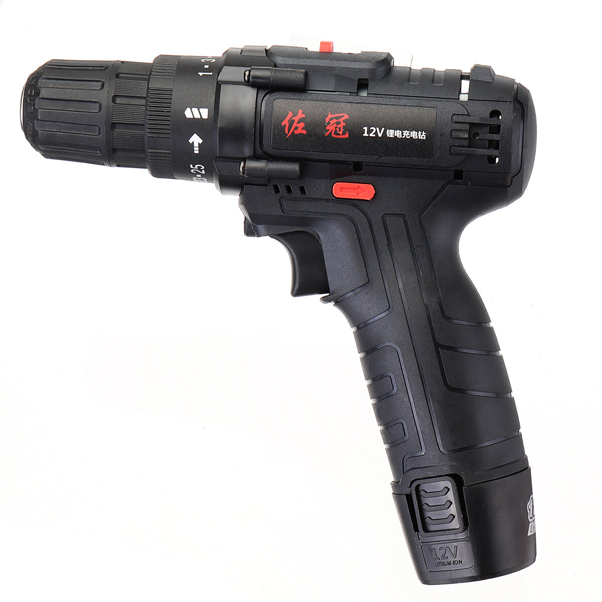 Shunzao 12V Cordless Multi-purposed 3 In 1 Imact Drill Driver Hammer 30Nm Electric Screwdriver Drill 2000mAh Li-ion Battery from xiaomi youpin - 7