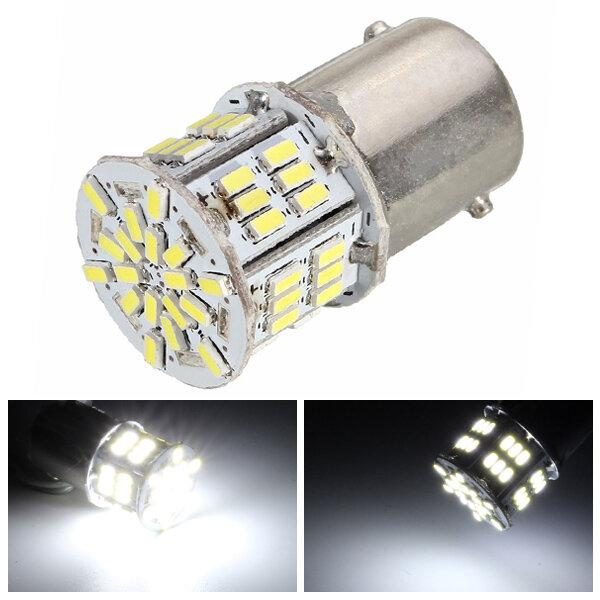1156 BA15S 3W 3014 SMD LED Mobil Tail Backup Lampu Turn Signal Penggantian Bulb DC 12V Murni Putih