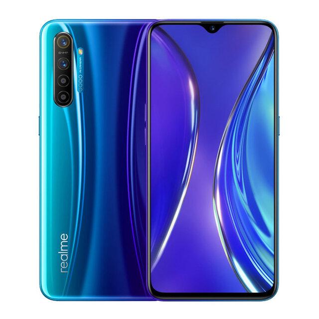Realme X2 Global Version 6,4 tommers FHD + Super AMOLED skjerm NFC 4000mAh 64MP Firekameraer bak 8 GB RAM 128 GB ROM Snapdragon 730G Octa Core 2.2GHz 4G Smartphone