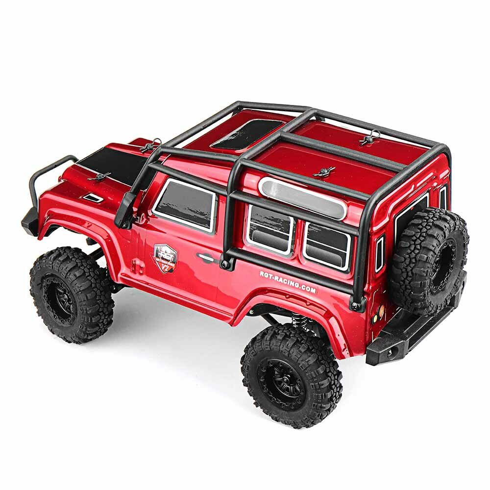 Eachine EAT04 1/12 2.4G 4WD Brush Rc Car Metal Body Shell Desert Off-road Truck RTR Toy Black - 10