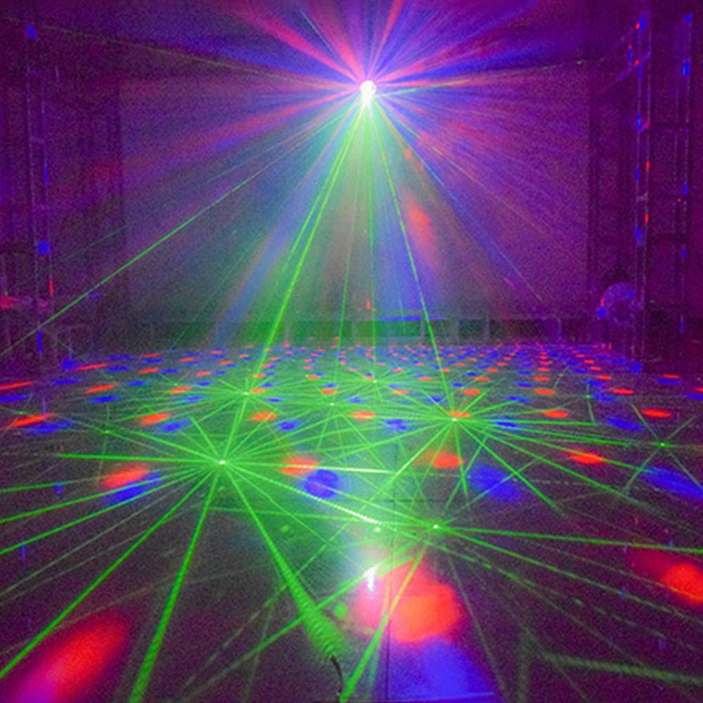 24W RGBW 4 IN 1 DMX512 LED Spider Beam Moving Head Stage Lighting DJ Party Disco - 9