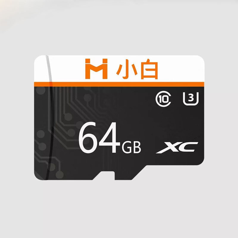 Xiaobai 32GB 64GB 128GB C10 High Speed TF Memory Card For Smart Phone Tablet Car DVR Drone from Xiaomi youpin