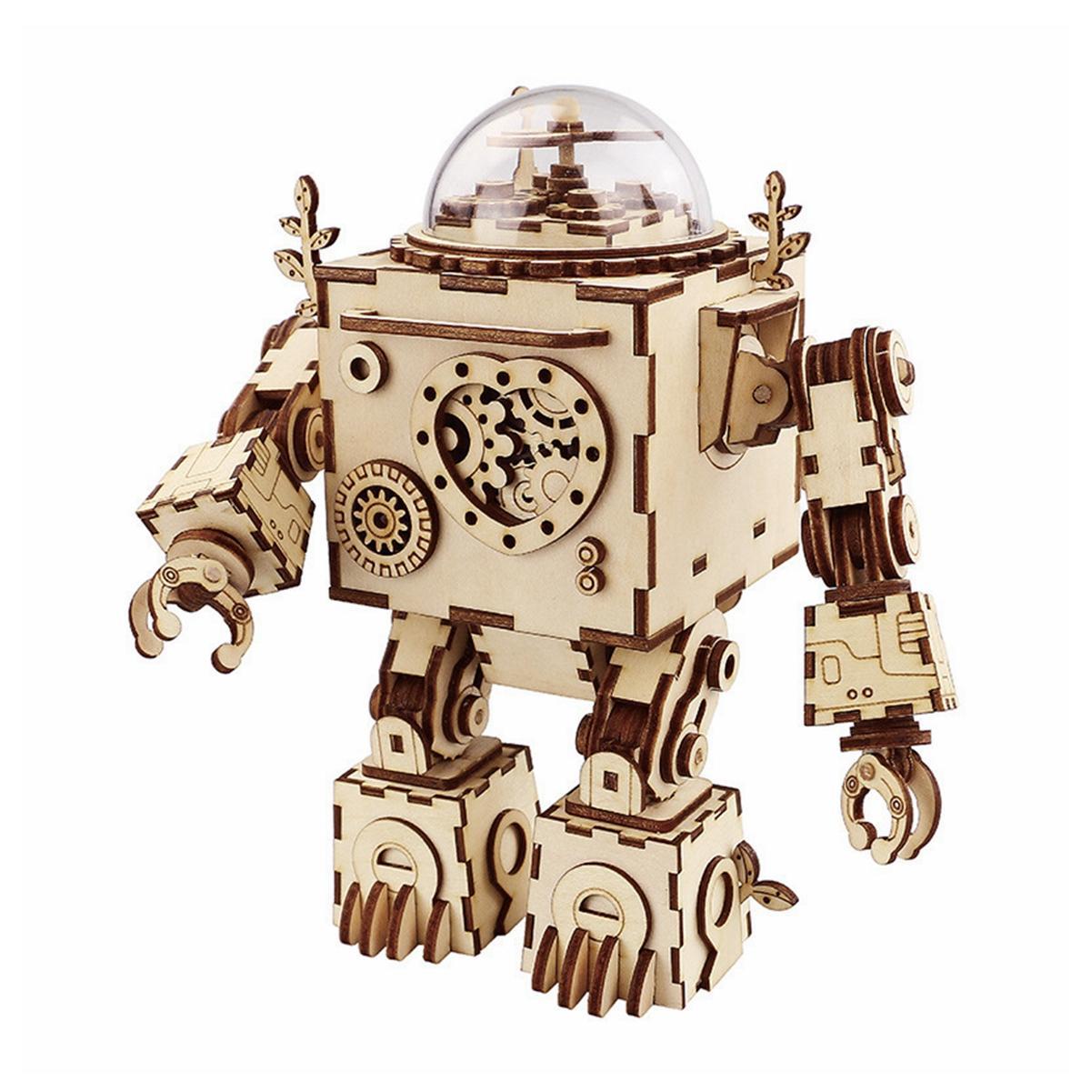 Retro Heart Shaped Telephone Model Music Box Home Ornament Decoration Music Box Toy - 1