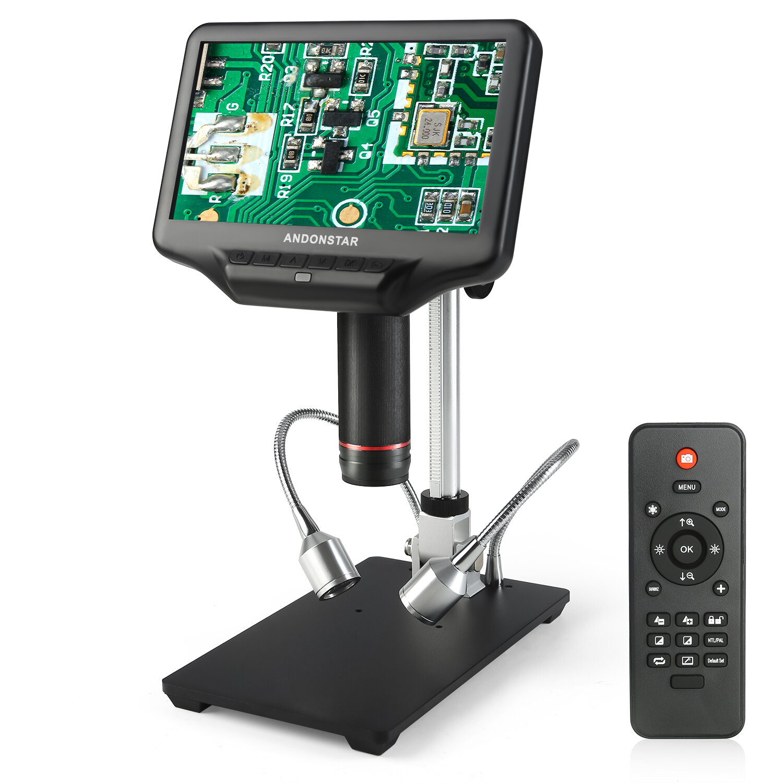 Andonstar AD106S Digital Microscope 4.3 Inch 1080P With HD Sensor USB Microscope For Phone Repair Soldering Tool Jewelry Appraisal Biologic Use Kids Gift - 1