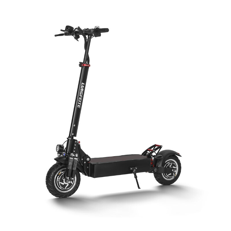 NEXTDRIVE N-7 300W 36V 10.4Ah Foldable Electric Scooter With Saddle For Adults/Kids 32 Km/h Max Speed 18-36 Km Mileage - 1