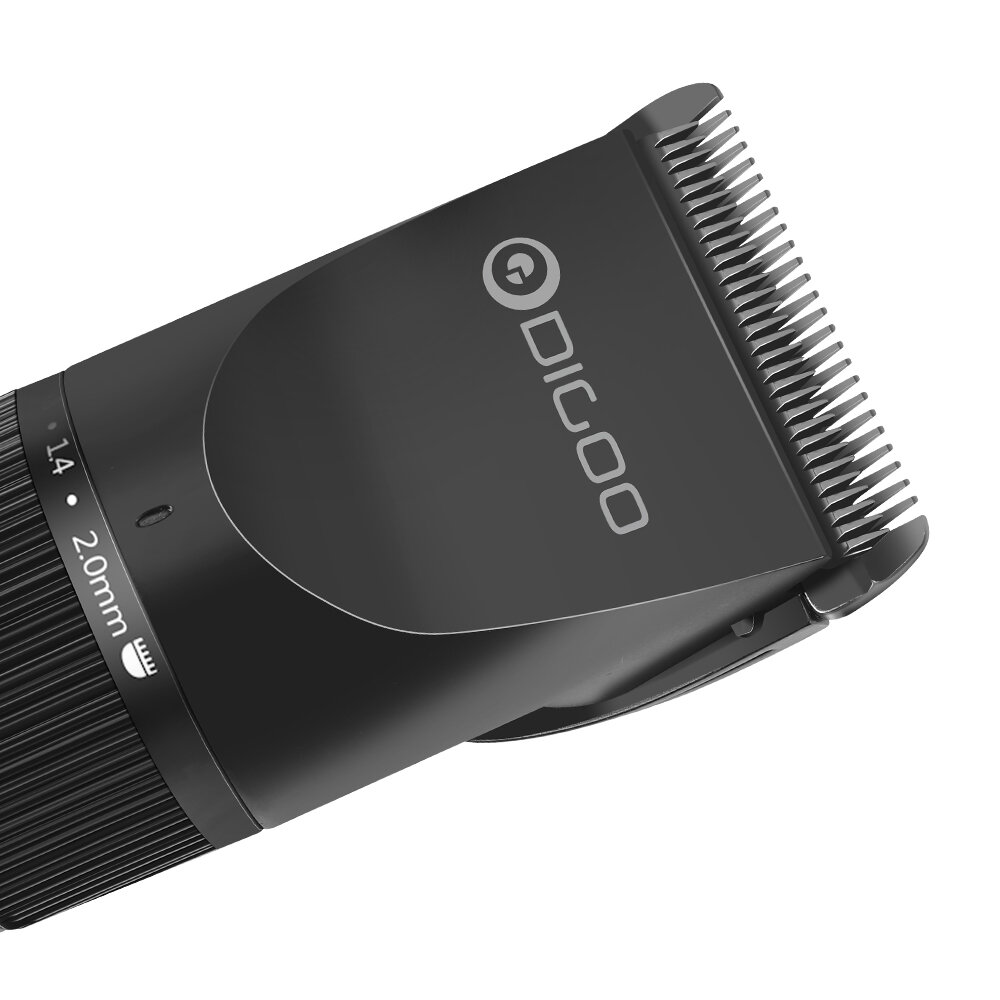 ShowSee C2-W/BK Electric Hair Clipper Portable Household USB Charging Hari Cut Machine IPX7 Waterproof Ceramic Steel Cutter From Xiaomi Youpin - 4