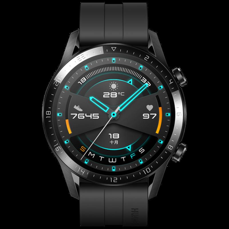 [bluetooth 5.1]Huawei WATCH GT 2 46MM 1.39' AMOLED Full Touch Screen Wristband bluetooth Call 14 Days Battery Life 15 Sport Modes GPS Smart Watch