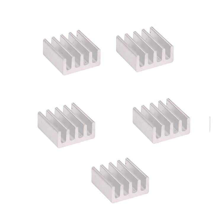 Aluminum Alloy Heat Sink 11*11*5mm Cooling Chip with Ultra-thin Sticker for RC ESC Servo Motor UAV FPV Transmitter, Topacc  - buy with discount