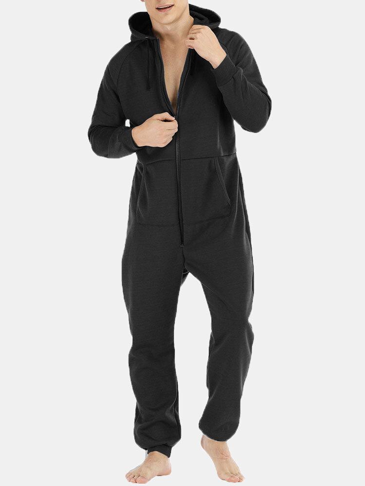 Men Polka Dot Kimono Robe Set Thin Loose Breathable Home Casual Loungewear Pajama Set - 1