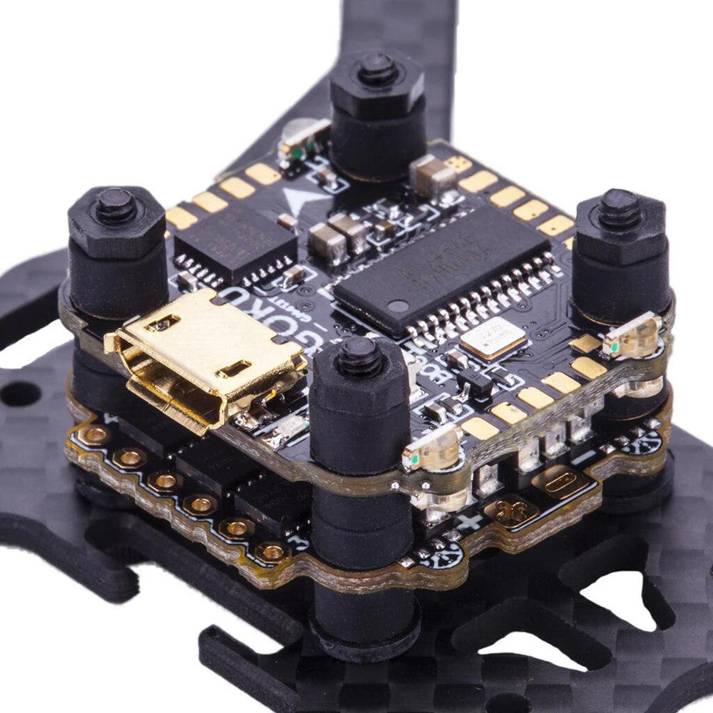 RC 16x16mm Flywoo Goku F411 Micro Stack F4 Flight Controller & BS13A 13A BL_S 2-4S 4in1 ESC Flytower for FPV Racing Drone фото
