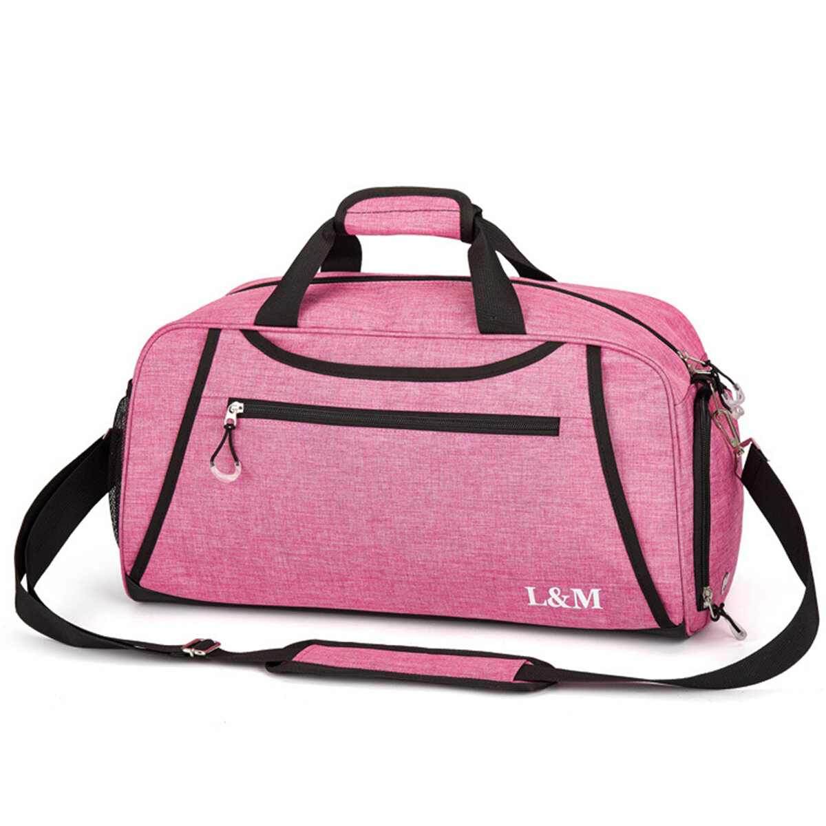 Sport Gym Training Fitness Bag Outdoor Travel Handbags Yoga Bags with Shoes Compartment - 2