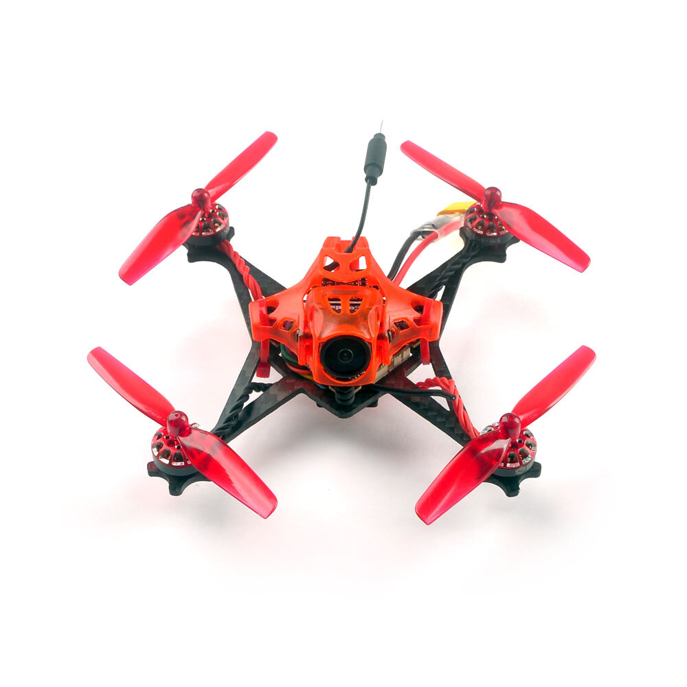 Eachine RedDevil V2 105mm 2-3S FPV Racing Drone Whoop PNP/BNF Crazybee F4 PRO Caddx EOS2 5.8G 25~200mW Nano VTX