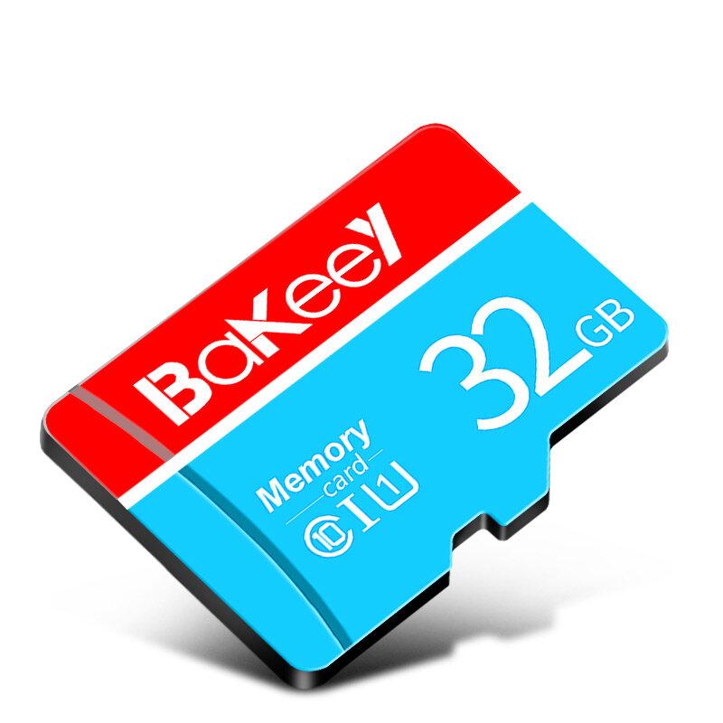 Bakeey 32GB 64GB Tarjeta de memoria TF de alta velocidad clase 10 con adaptador de tarjeta Cámara para teléfono inteligente Xiaomi Redmi Note 8 Tablet Car DVR Altavoz MP4