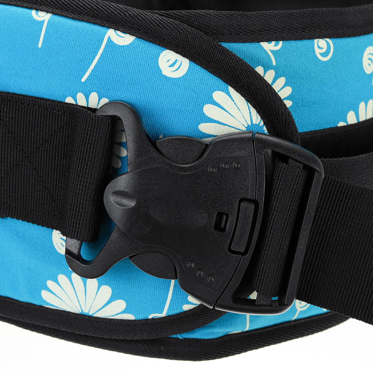 Baby Carrier Waist Stool Baby Hipseat Baby Carrier Waist Stool Kids Bench Sling Hipseat Waist Belt Backpack Infant Hip Support Seat Cushion - 5