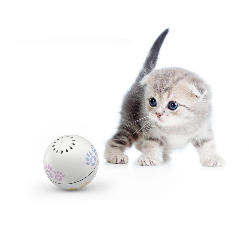 PETONEER PBL010 Bréagán Cliste USB Cat Cat Cárta Ball Leictreach
