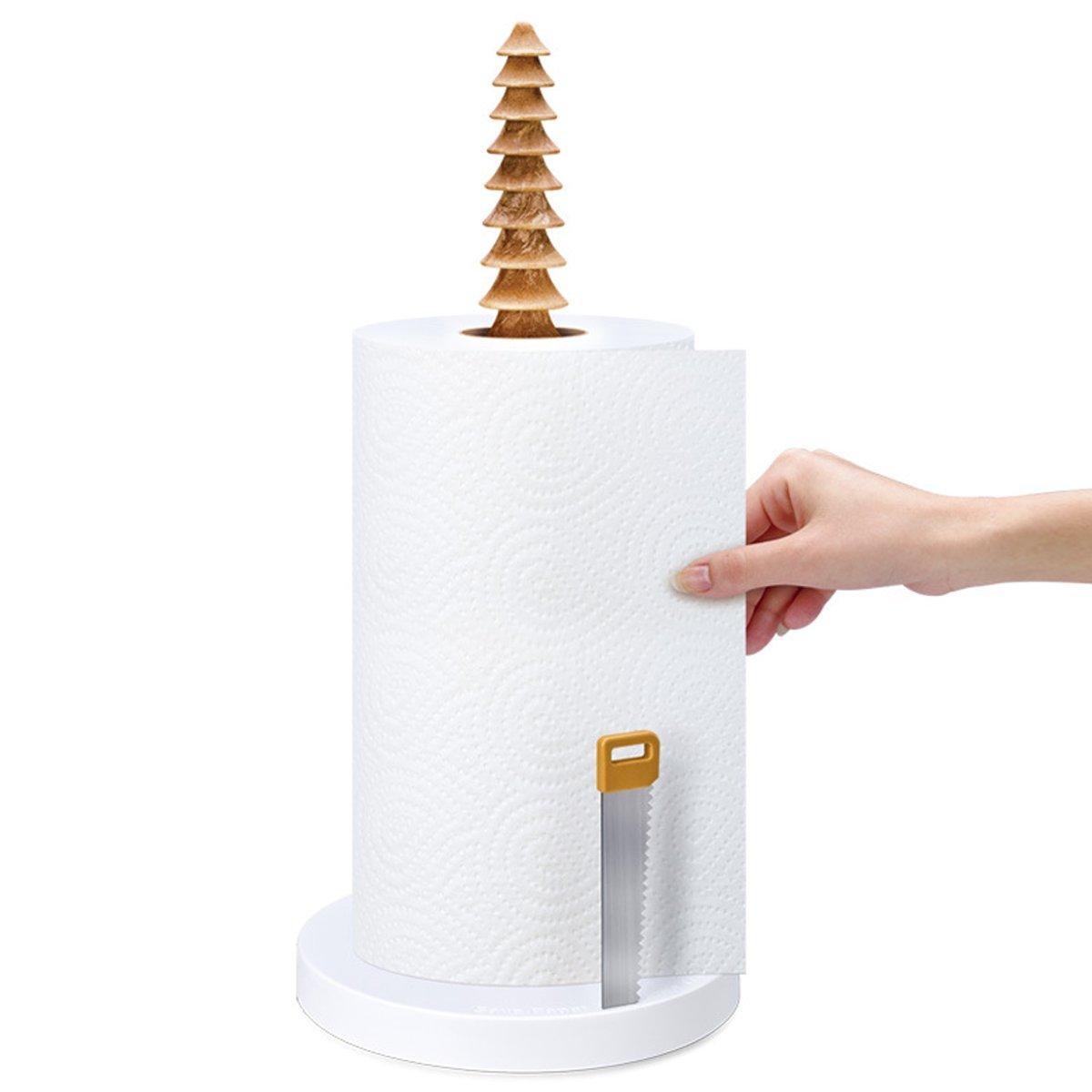 Keuken Keukenrolhouder Vrijstaand toiletpapier Roll Dispenser Opslag - 2