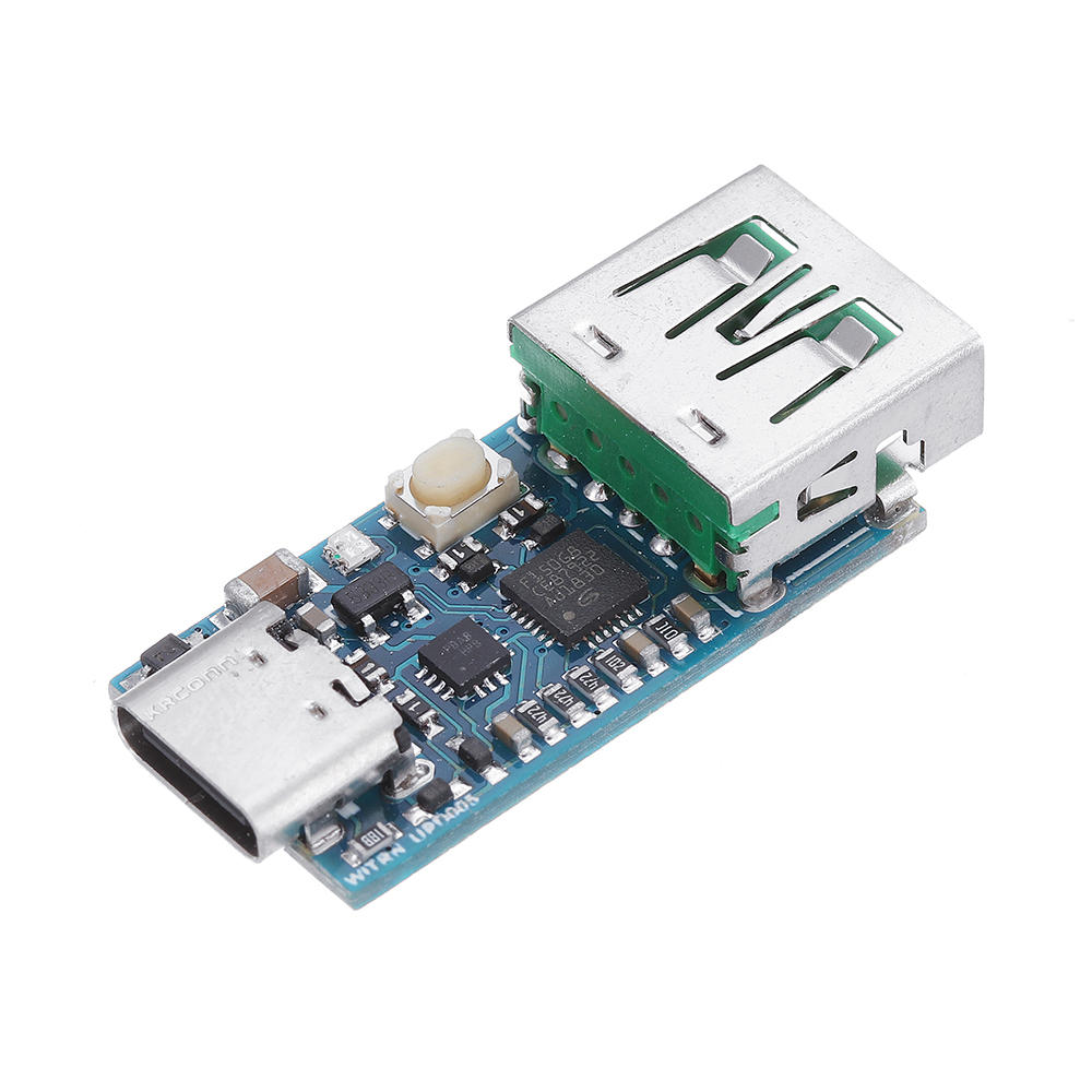 WEB-UPD005 PD DC Decoy Detection PD2.0 3.0 Fast Charging Board Trigger Module QC4 + Polling HID Programming Module