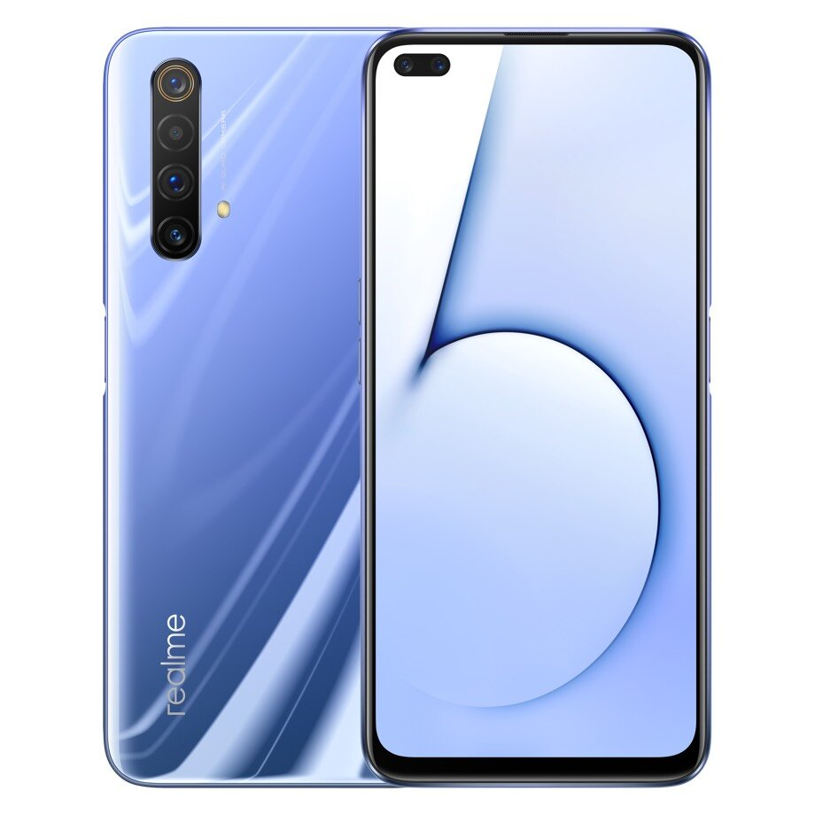 Realme X50 5G Smartphone CN Version 6.57 inch FHD+ NFC Android 10.0 4200mAh 30W VOOC 4.0 64MP Quad Rear Cameras 12GB RAM 256GB ROM Snapdragon 765G Octa Core