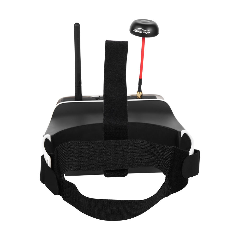 JJRC FPV-003 5.8GHz 40CH Full Frequency Band Auto-searching FPV Goggles Monocular Glasses w/ Battery - 4
