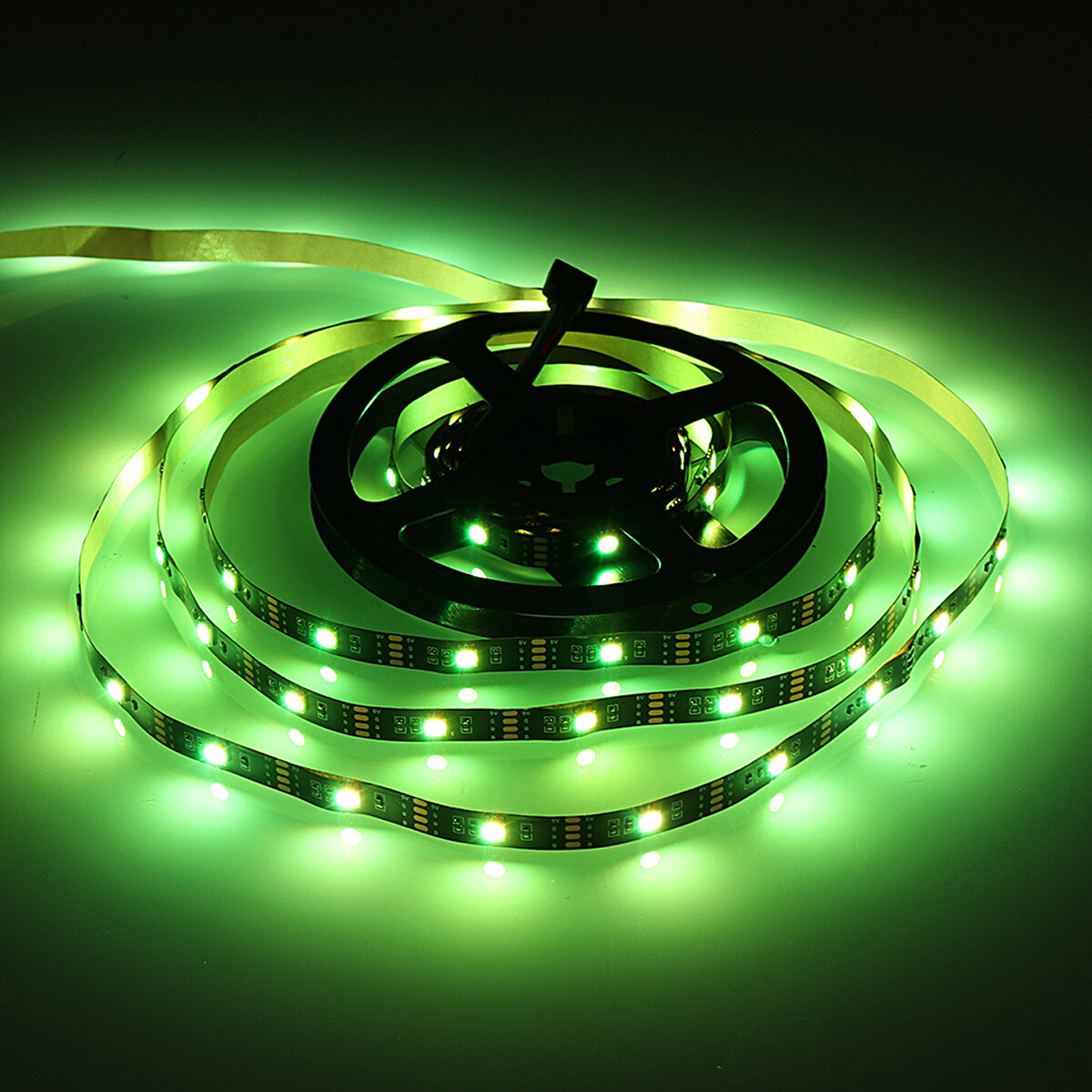 DC5V Non waterproof 0.5m 2m 3m 5m 5050 bluetooth APP Control RGB USB LED Strip Light KTV Hotel Home Decor - 6
