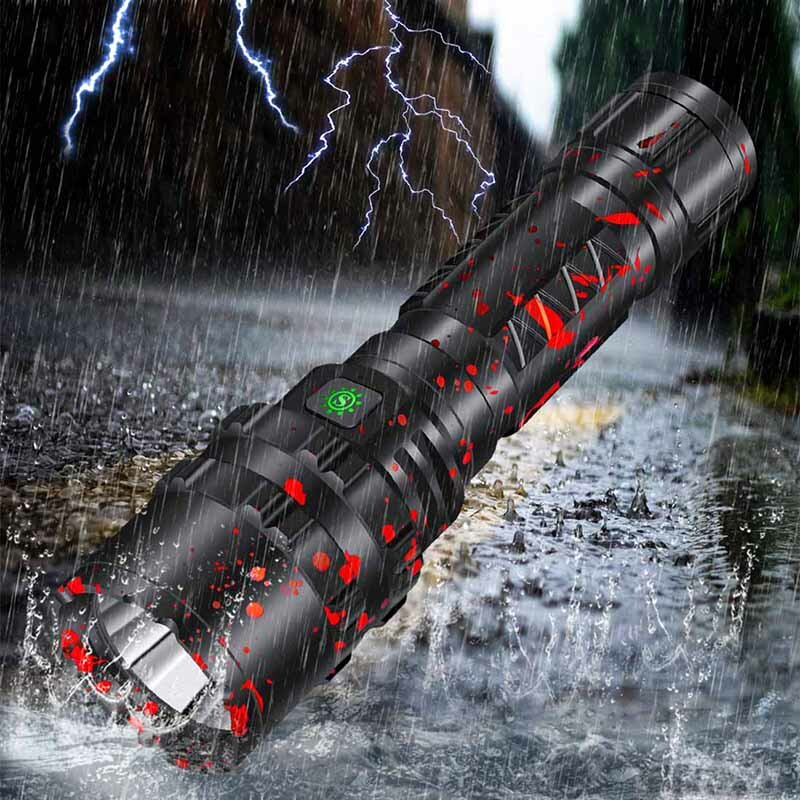 XANES 3320 P50 XHP50 1800Lumens USB Rechargeable LED Flashlight With 26650 Battery