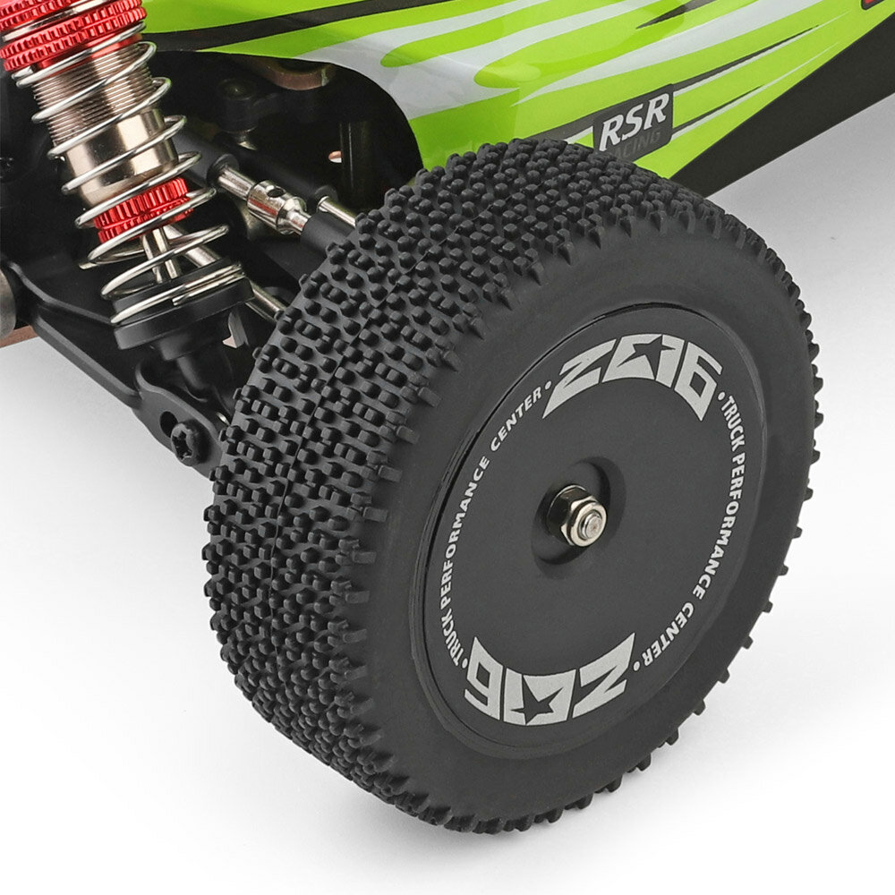 WPL C24 1/16 Kit 4WD 2.4G Military Truck Buggy Crawler Off Road RC Car 2CH Toy - 9