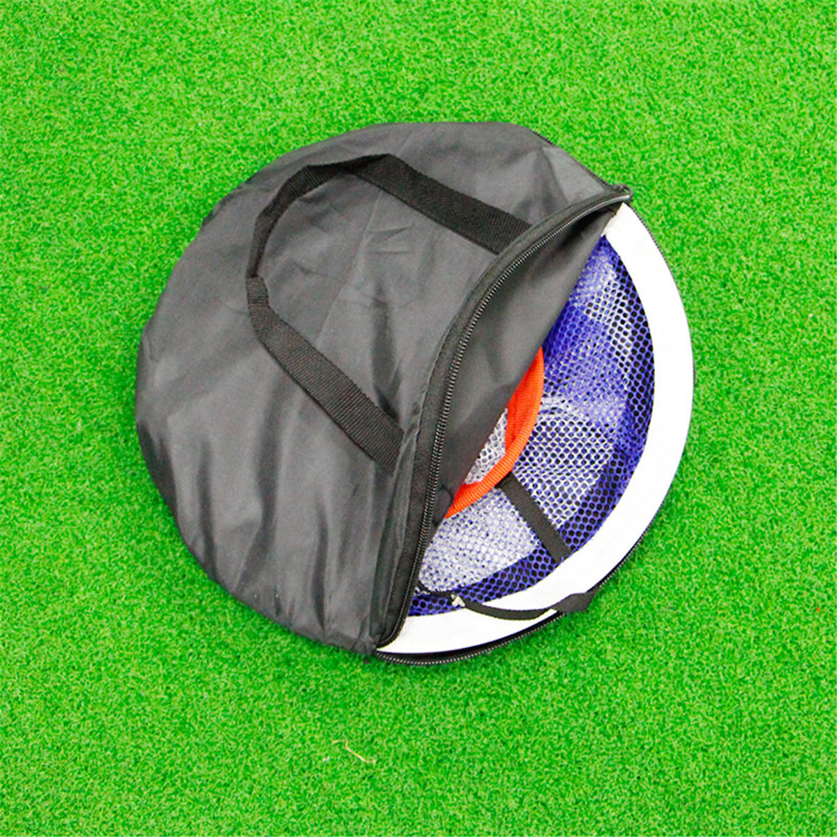Golf Chipping Pitching Practice Net Hitting Cage Outils d'aide à la formation en plein air - 6