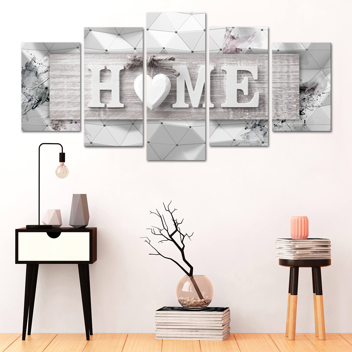 Hand Painted Oil Paintings People Modern Stretched On Canvas Wall Art For Home Decoration - 2
