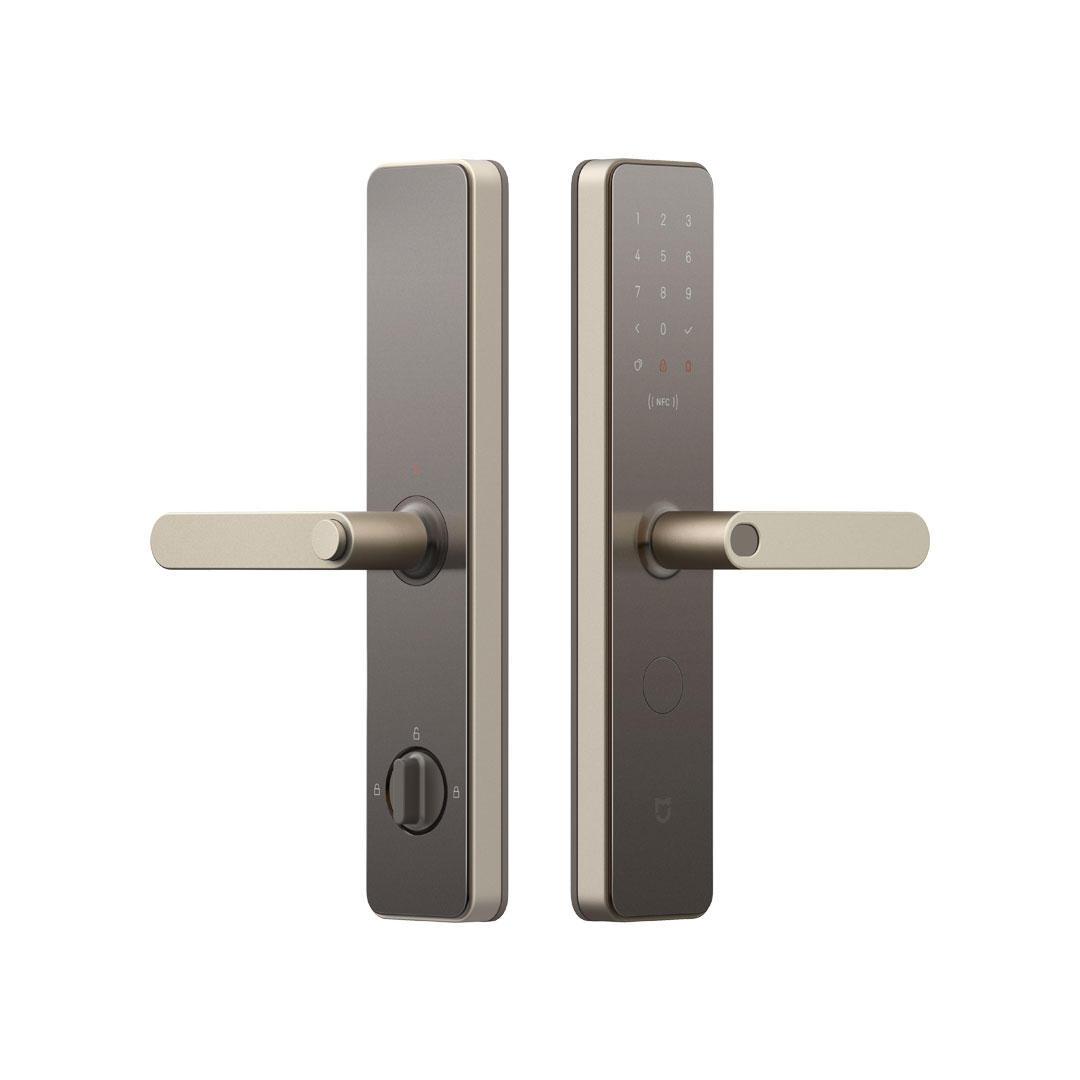 Xiaomi Mijia Smart Door Lock Fingerprint Password NFC Bluetooth Unlock Detect Alarm Mi Home App Control