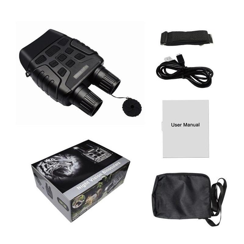ohhunt 7X31 Digital Night Vision Binocular Hunting Built-in IR Illuminator Photo Video Recorder - 5
