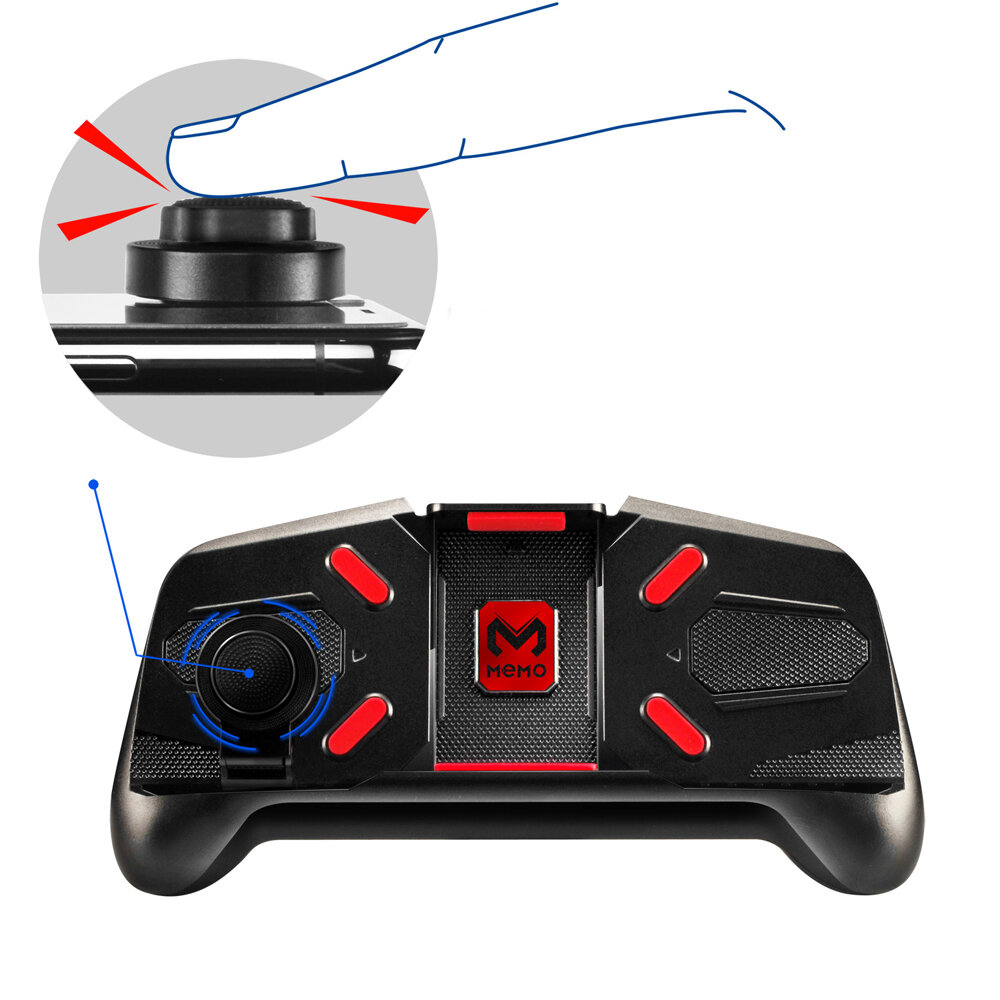 Bakeey 2.4GHz Wireless Game Controller Gamepad Joystick For Android TV Box PC