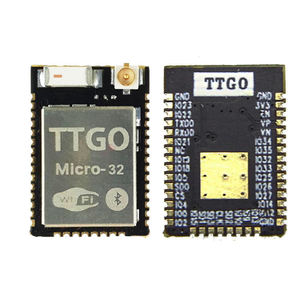 Картинка - LILYGO® TTGO Micro-32 V2.0 Wifi Беспроводной модуль Bluetooth ESP32 PICO-D4 IPEX ESP-32