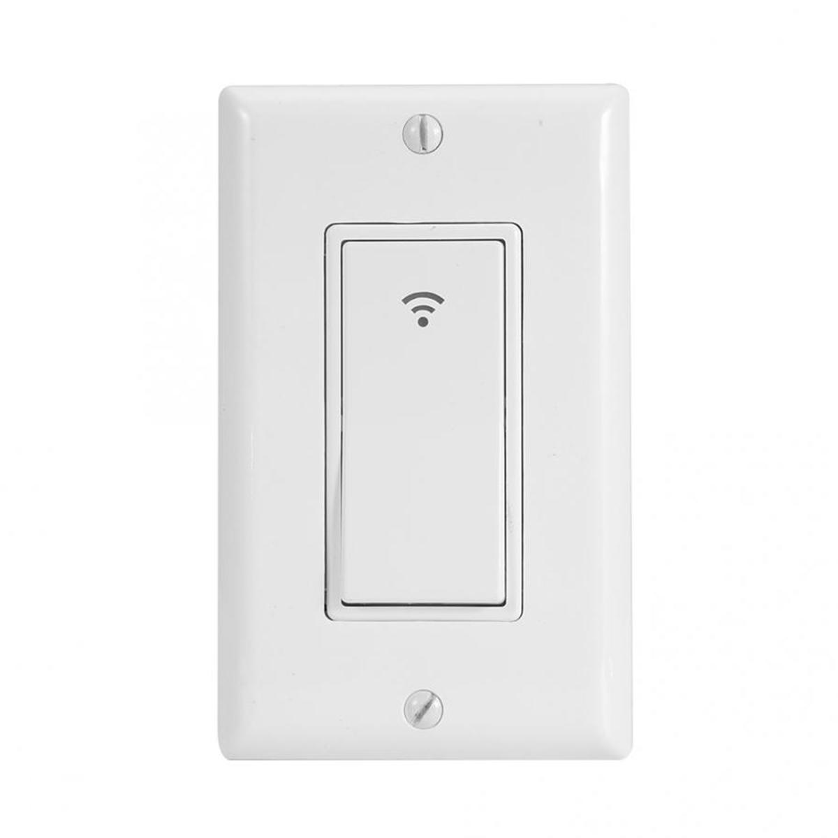 WiFi Smart Wall Light Wireless Touch Panel Switch App Timing for Alexa Google Home Remote Control