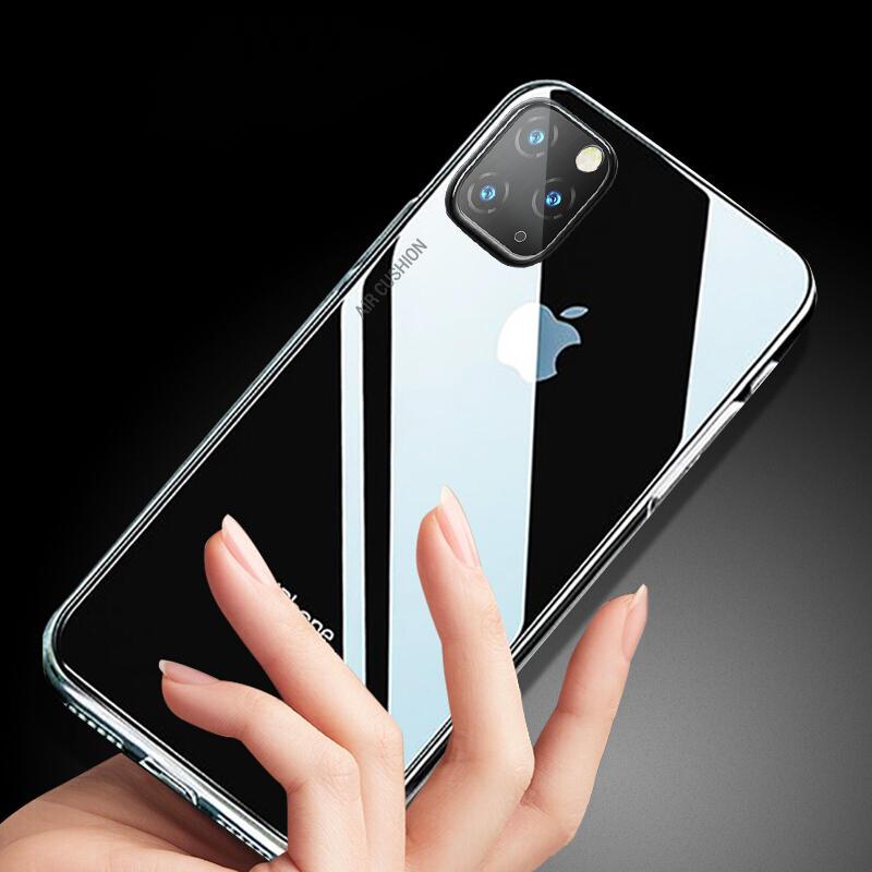 Baseus AirBag Støtsikker krystallklar gjennomsiktig Soft TPU beskyttelsesetui til iPhone 11 6,1 tommer