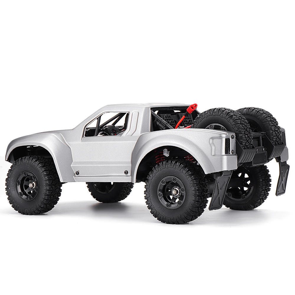 WLtoys 12427 2.4G 1/12 4WD Crawler RC Car With LED Light - 2
