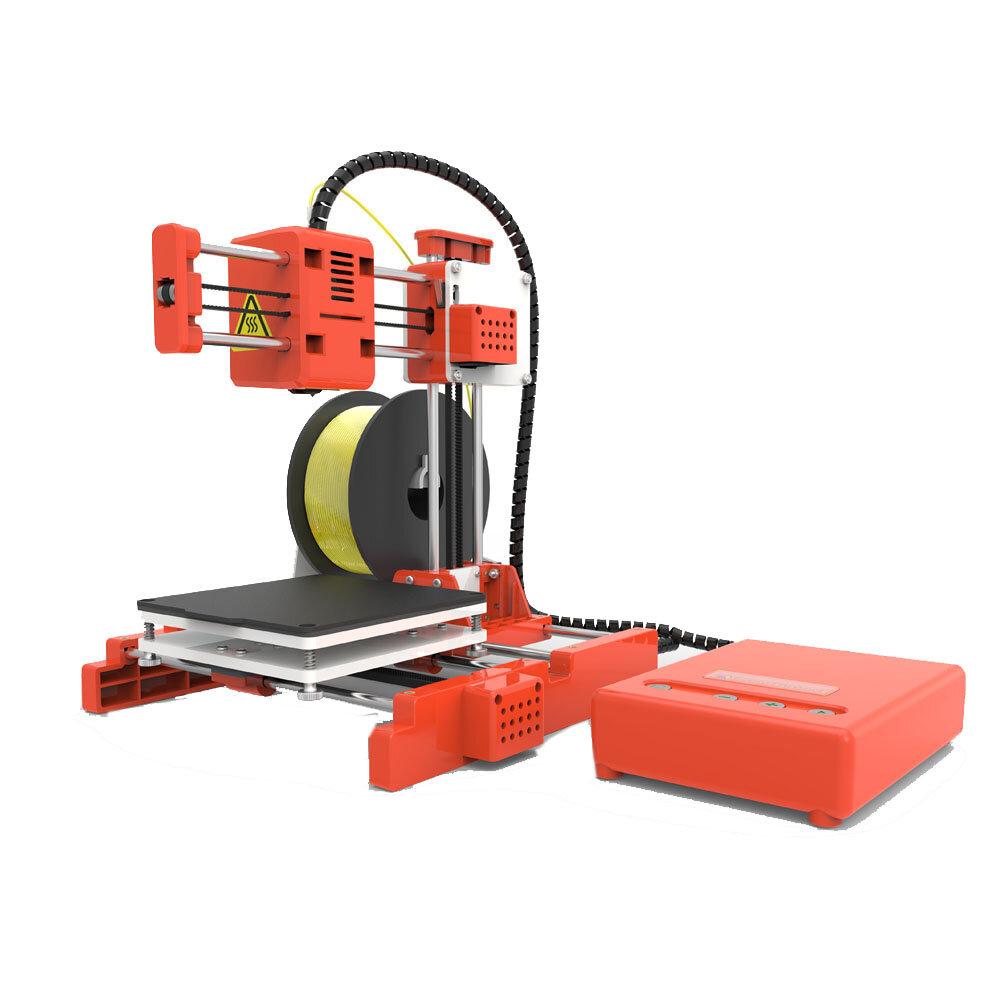 Easythreed® X1 Mini 3D Yazıcı Ev Eğitimi ve Öğrencileri için 100 * 100 * 100mm Baskı Boyutu 1.75 mm 0.4 mm Meme ile One Anahtar Yazdırma Desteği