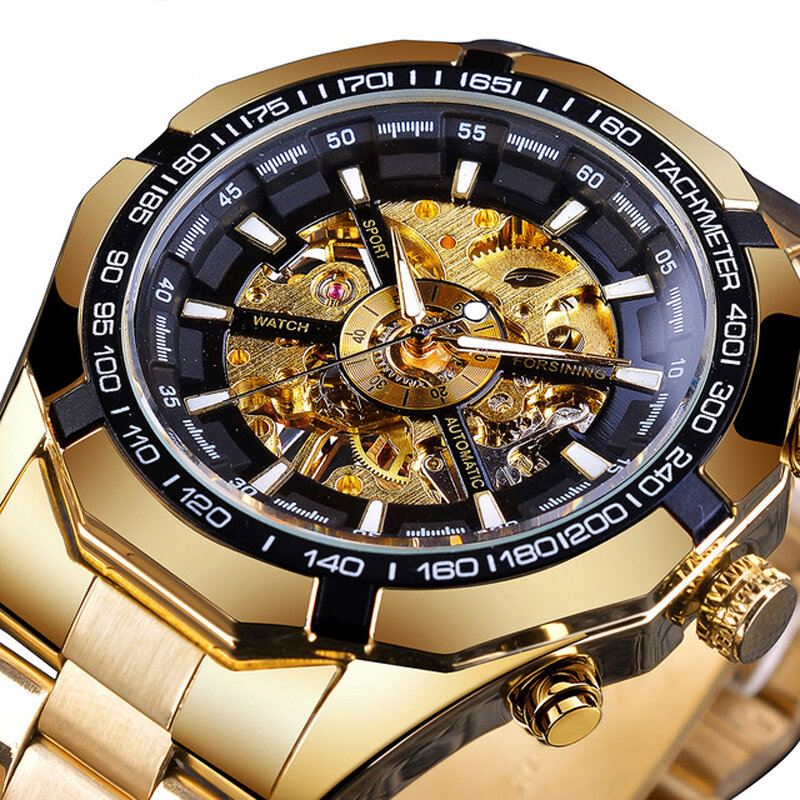 Forsining GMT1091 Luminous Display Mechanical Watch - 3