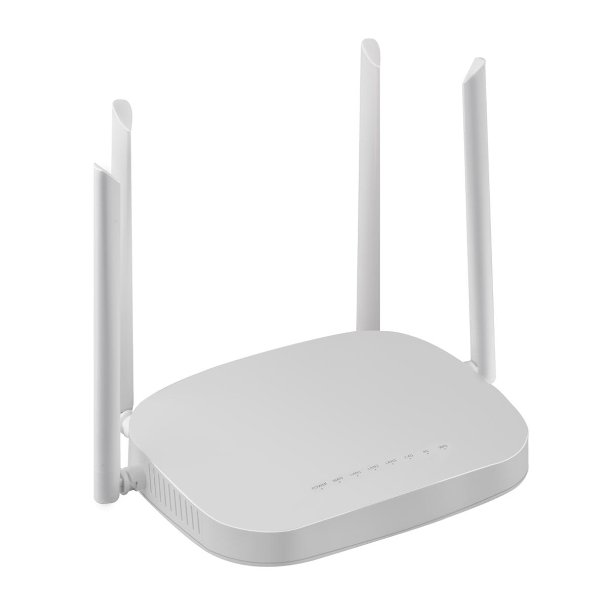 2.4G 300Mbps 4G Wireless Smart Router W// 4 Antenna SIM WiFi Range Extender EU