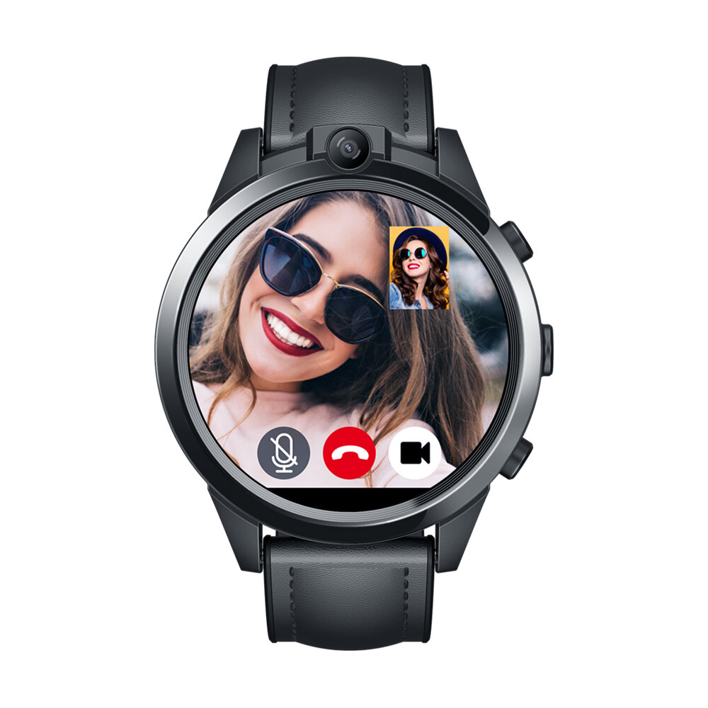 Bakeey TK04 GSM bluetooth Call Built-in GPS Air Pressure Compass Heart Rate Blood Pressure Weather Smart Watch Phone - 4