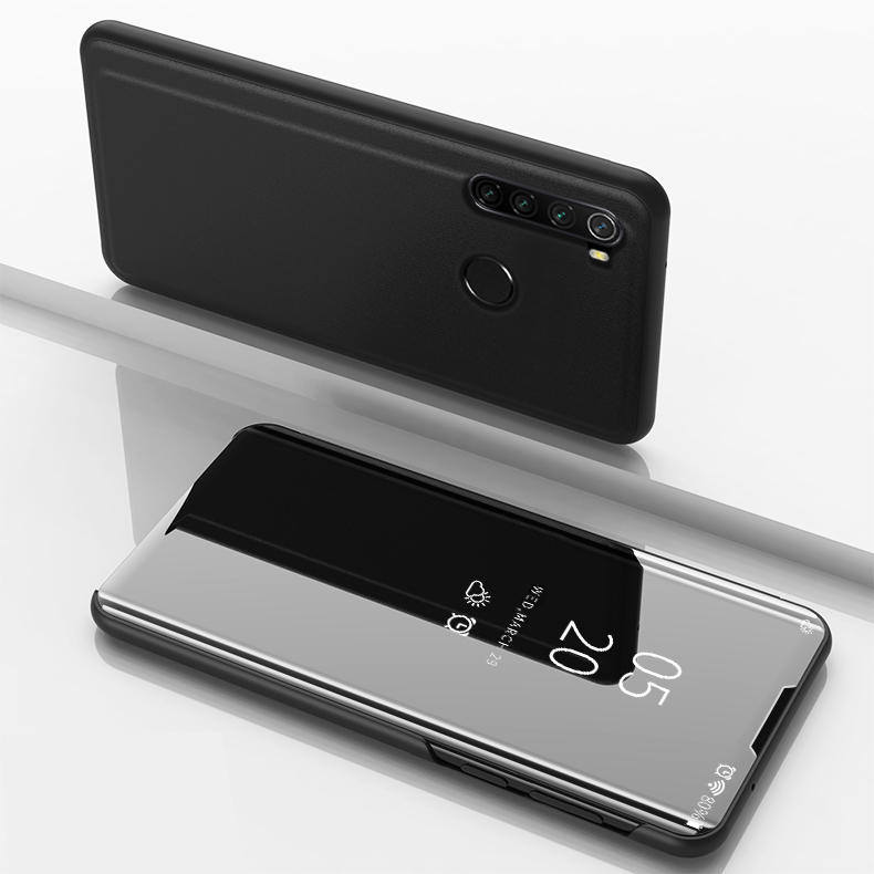 Bakeey Plating Mirror Window View Shockproof Flip Full Cover Protective Case for Xiaomi Redmi Note 8