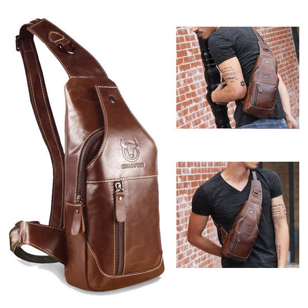 Men's Anti Theft Hidden Agents Underarm Shoulder Bag - 1